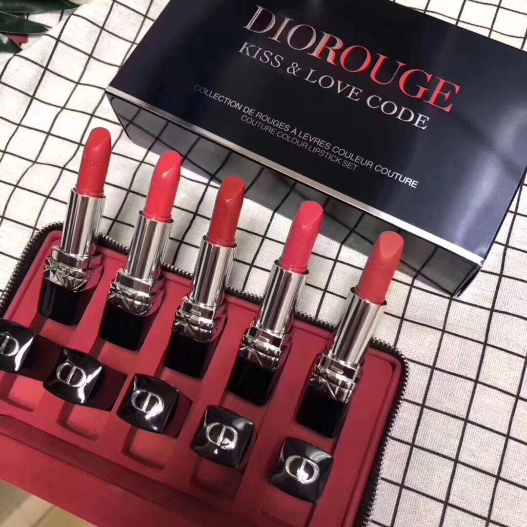 Dior Rouge Kiss Love Code Couture Lipstick Set 1519 Us 98 00 Wholesale Makeup Wholesale Cosmetics Cheap Brand Makeup Lipstick Set Perfect Lipstick Cosmetics Wholesale