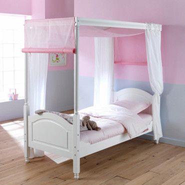 lit enfant baldaquin. Black Bedroom Furniture Sets. Home Design Ideas