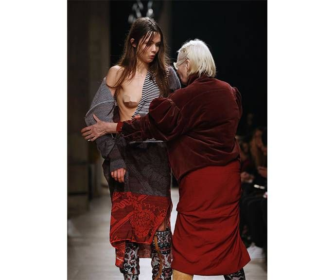 Fashion Designer Vivienne Westwood S Response To Model S