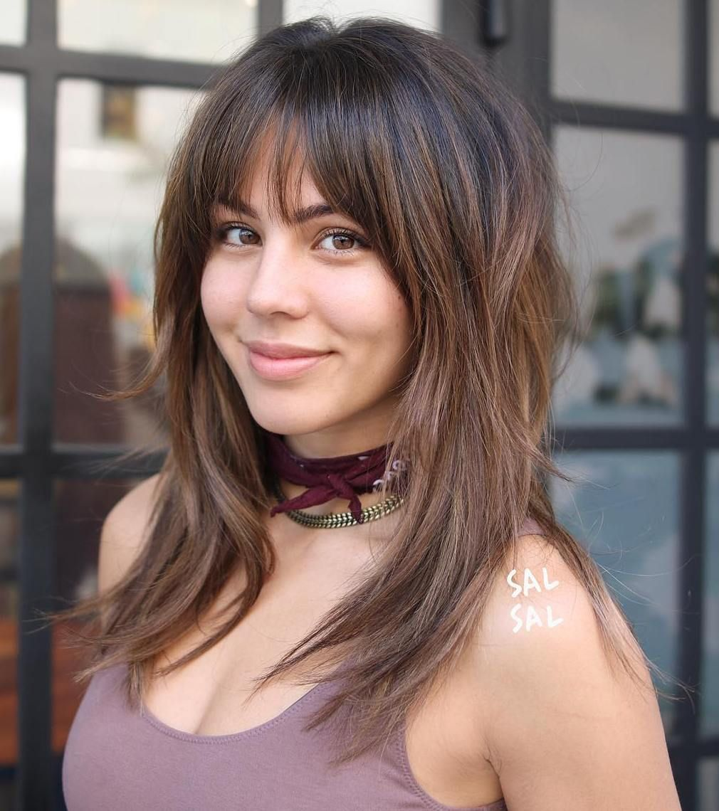 Long Shaggy Hairstyles 2019: 60 Lovely Long Shag Haircuts For Effortless Stylish Looks