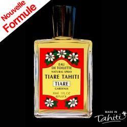 Un grand classique des parfums polynésiens ! Cette Eau de Toilette Tiki Tahiti 30 ml au parfum du Tiaré est fabriqué à Tahiti-Faaa par la Parfumerie Tiki et rencontre un énorme succès auprès de nos clients !