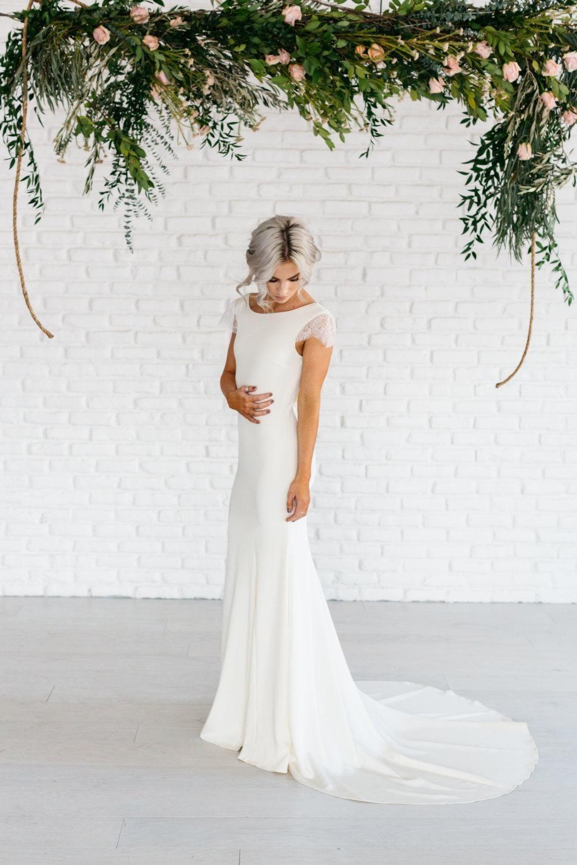 Top 19 brautkleid mit ärmel romantisch schlicht  Hochzeitskleider