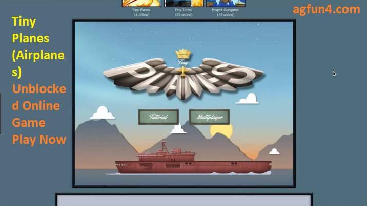 Tiny Planes (Airplanes) Unblocked Online Game Play Now
