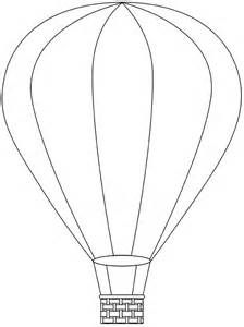 Hot Air Balloon Printable Template Free Digital Hot Air Balloon