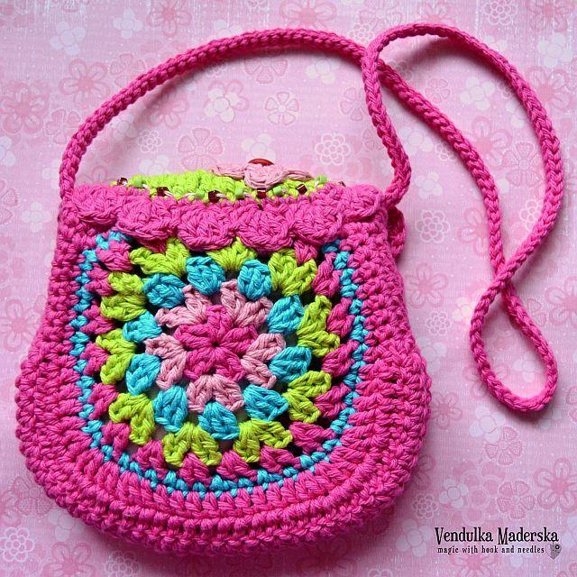 Birdie purse - crochet pattern, DIY | Häkeln, gehäkelte Geldbörsen ...