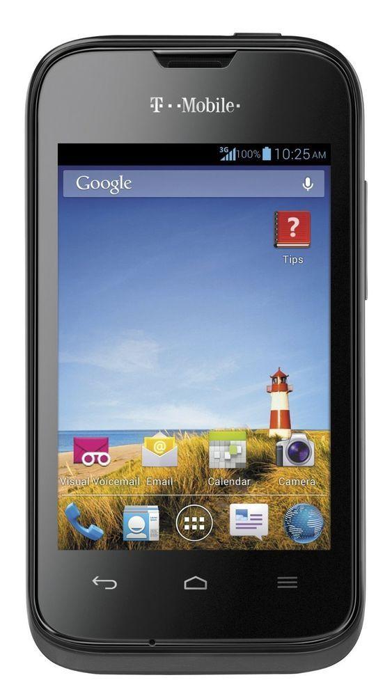 TMOBILE prism ll android | ebay | Prepaid phones, T mobile