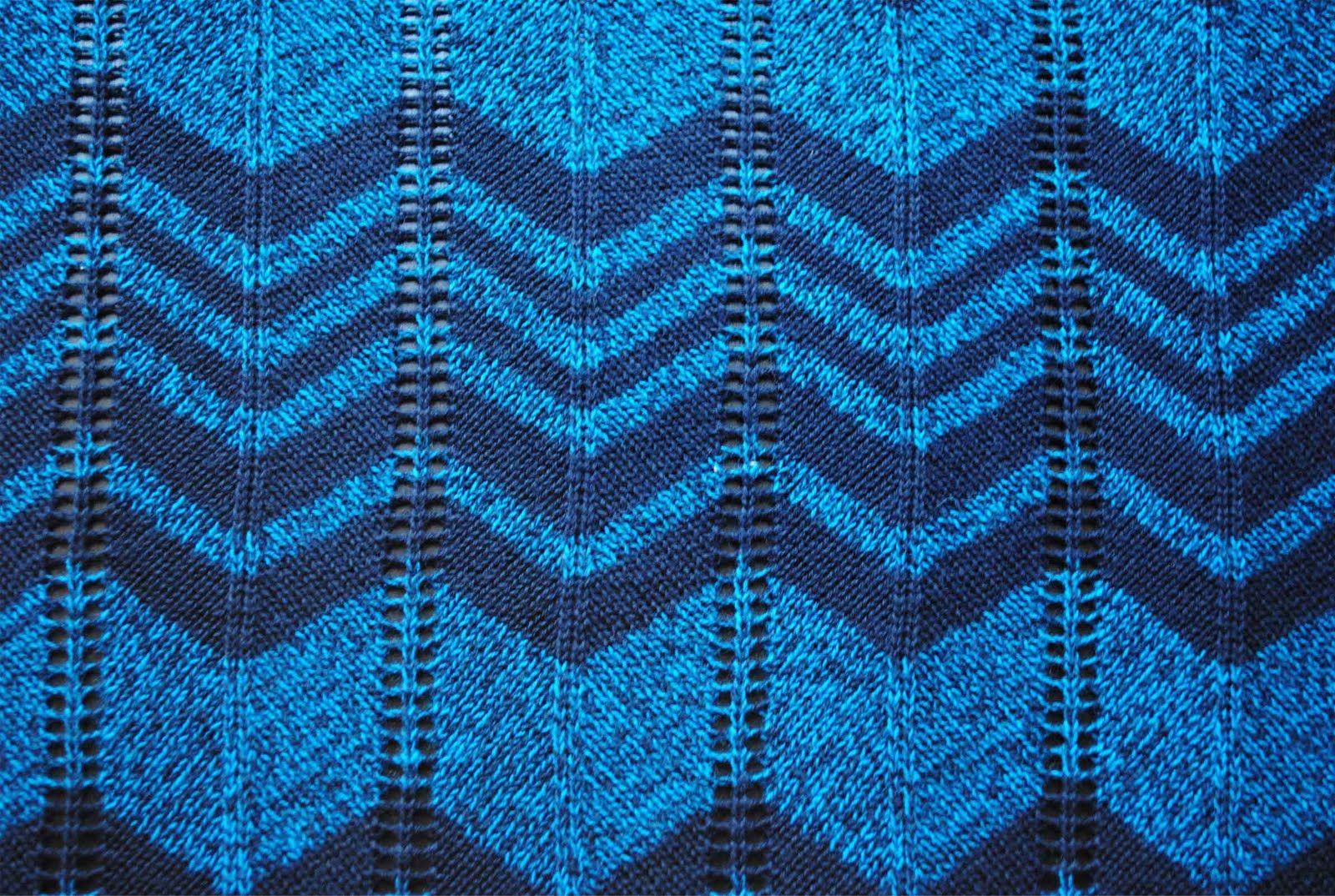 zakka life: Missoni Inspired Chevron Knitting Pattern | Knitting ...