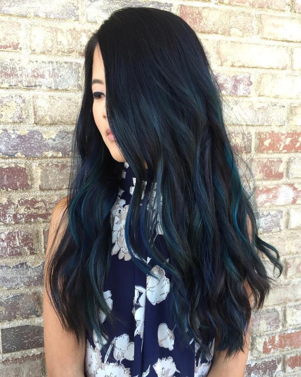 Blue Black Hair How To Get It Right Hair Pinterest Hair Blue