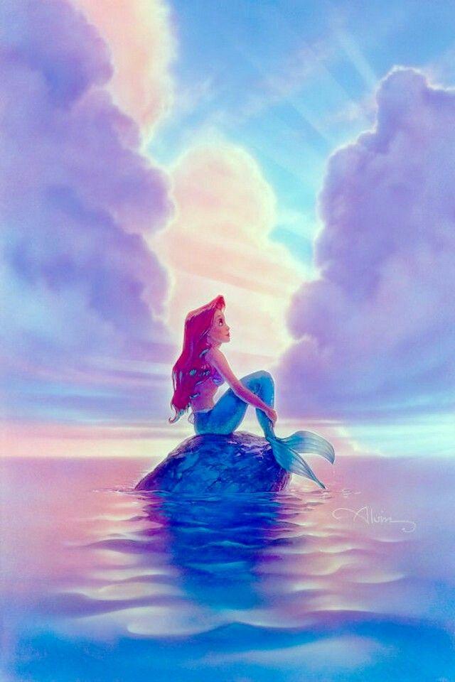 The Little Mermaid Ariel John Alvin Disney New Canvas Le 195 Signed Giclee Disney Art Disney Ariel Disney