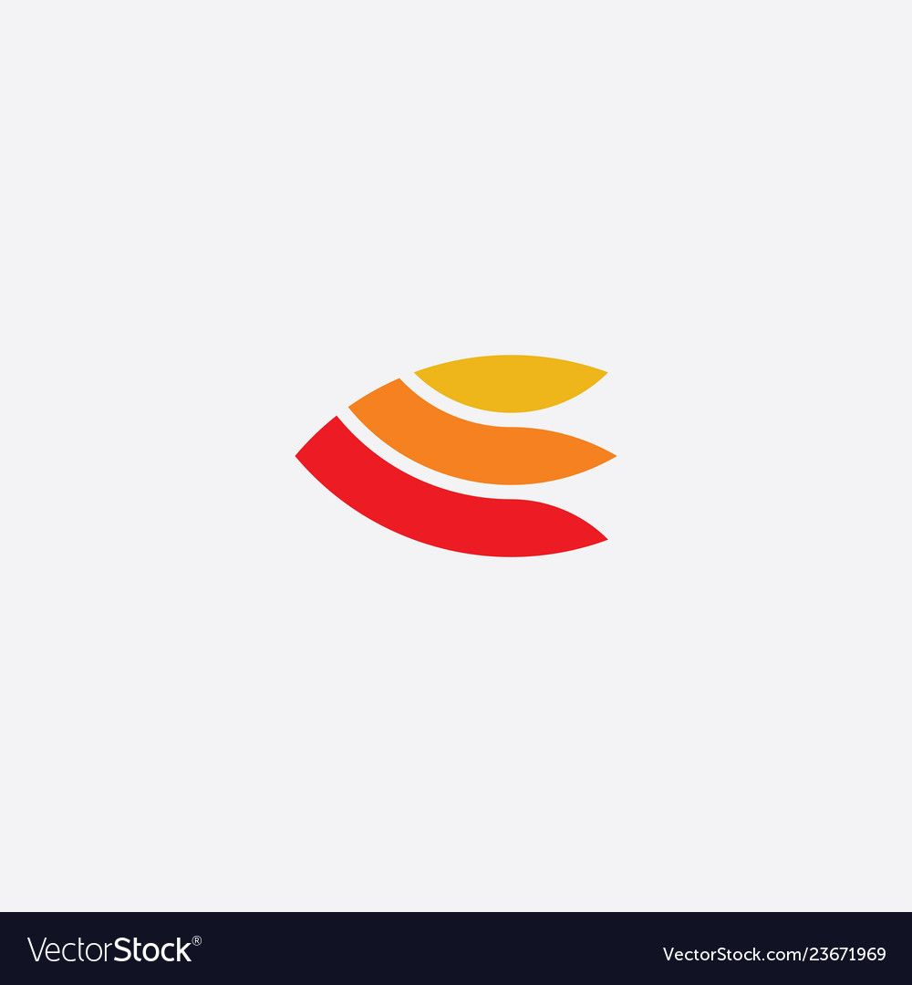 E Logo Letter Icon Symbol Royalty Free Vector Image Affiliate