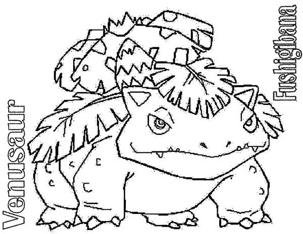 Pokemon Venusaur Not Impressed Coloring Pages Bulk Color In 2020 Pokemon Coloring Pages Pokemon Coloring Coloring Pages