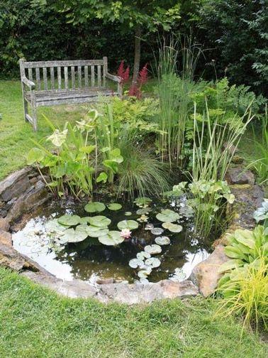 8 idées de bassin de jardin pour dynamiser la déco extérieure