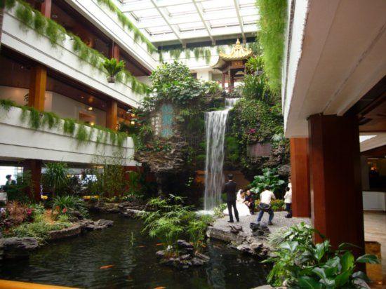 Shamiami Island Hotel Indoor Waterfall Indoor Waterfall Indoor