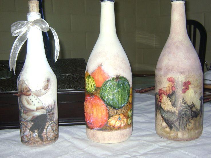 Botellas decoradas buscar con google botellas - Botellas de plastico decoradas ...