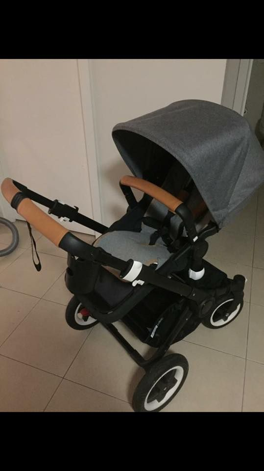 My Old Bugaboo Buffalo Miss It Already Leather Pram Handle