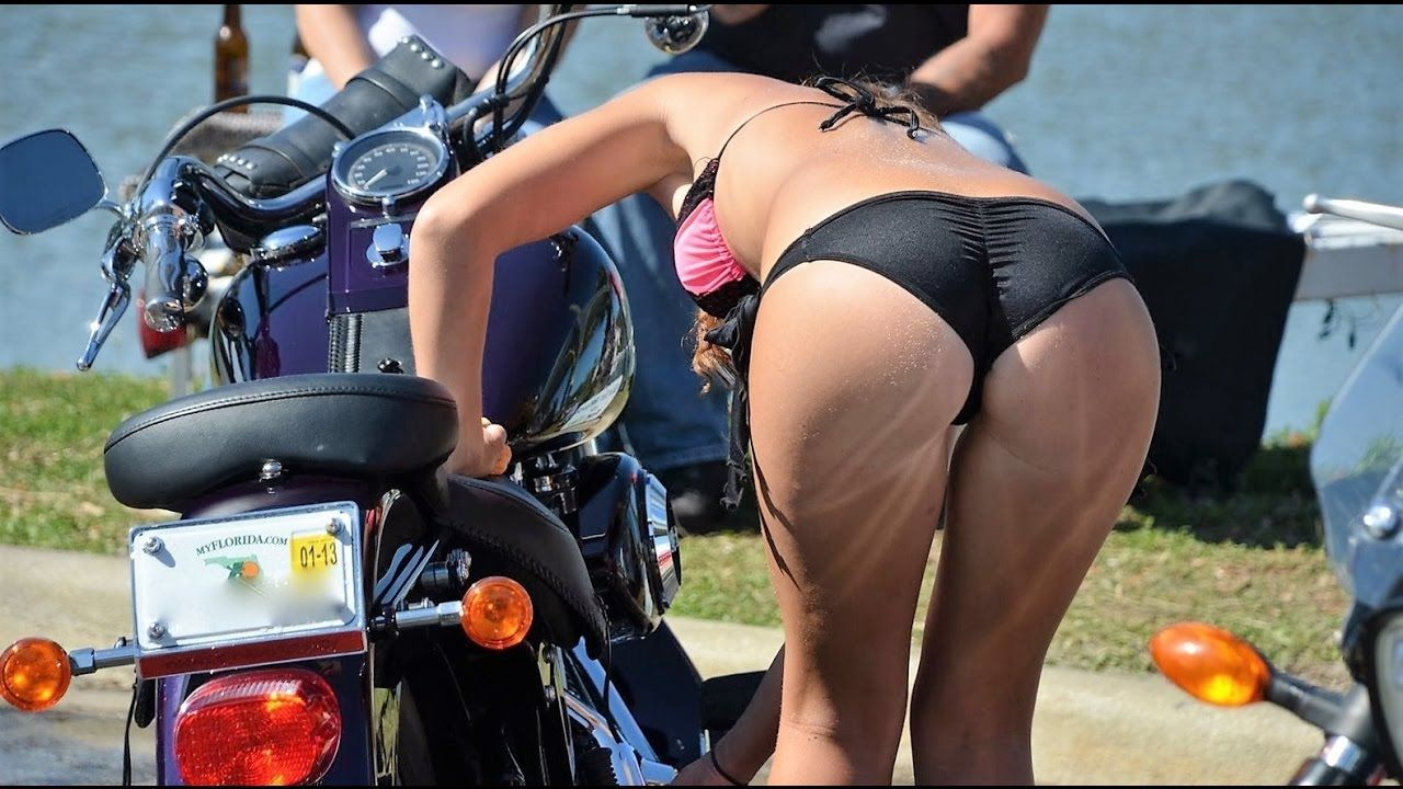 Think, that Bike bikini hot hot pic think