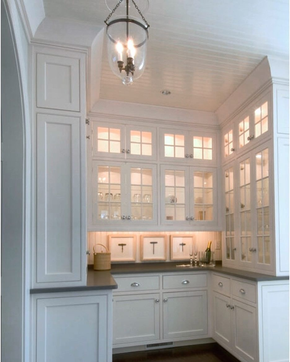 Lewis Weldon On Instagram The Perfect Butler S Pantry Traditional Capecod Homedesign Corner Kitchen Cabinet Kitchen Plans White Kitchen Design
