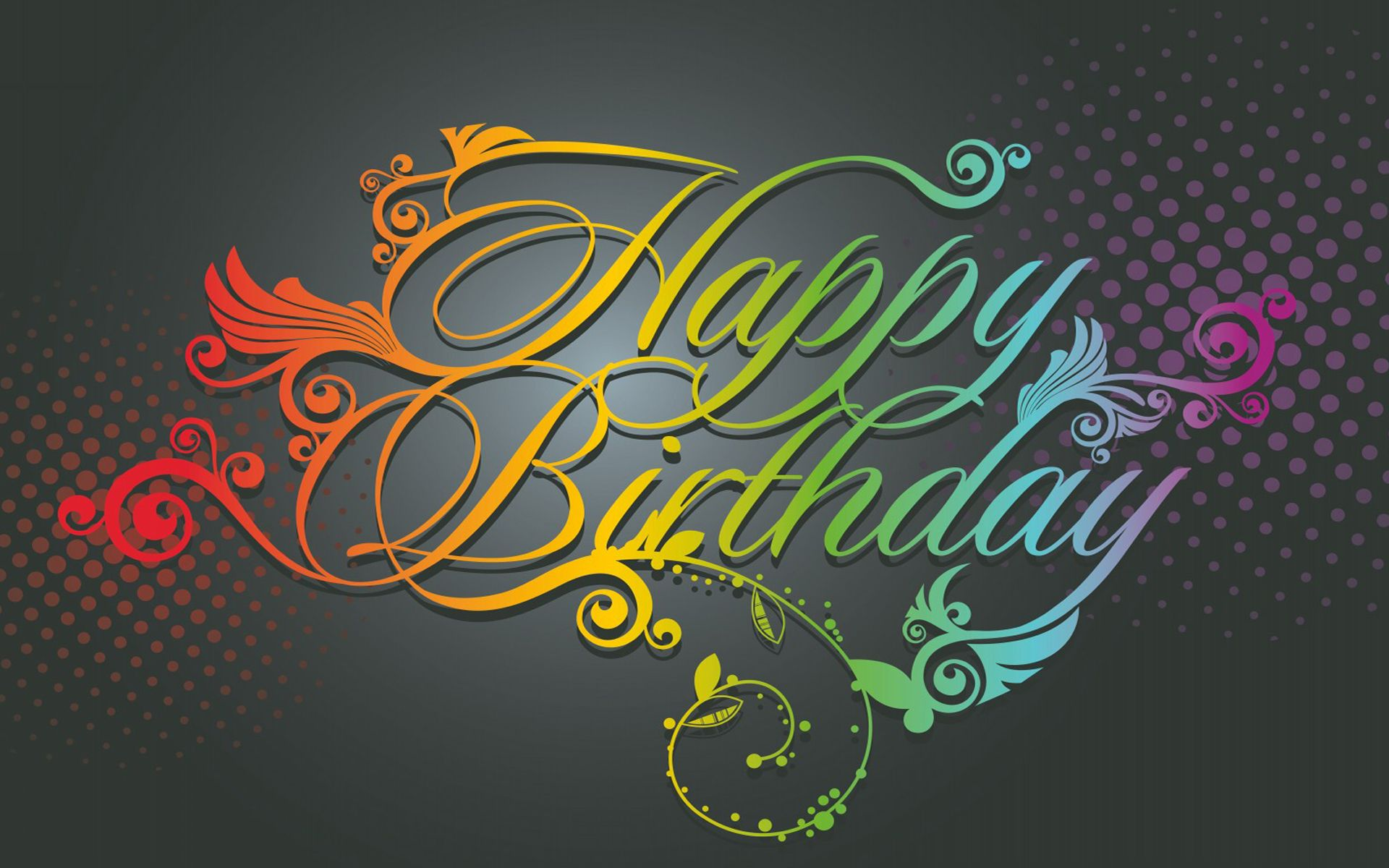 Happy Birthday Wallpaper HD  Wallpapers, Backgrounds, Images, Art ...  Birt...