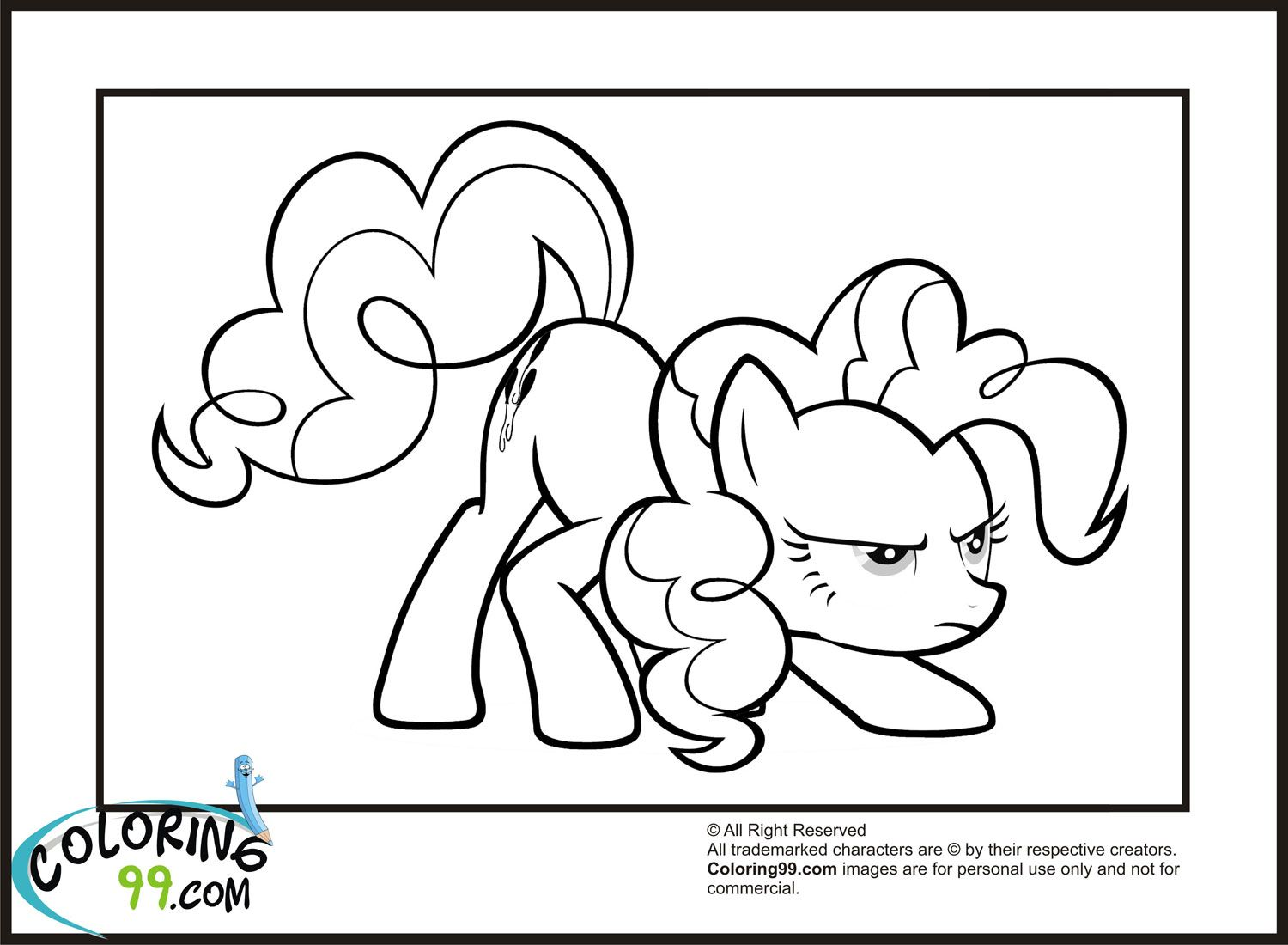 Pin von spetri.4kids@gmail.com auf Coloring 4 Kids: My Little Pony ...