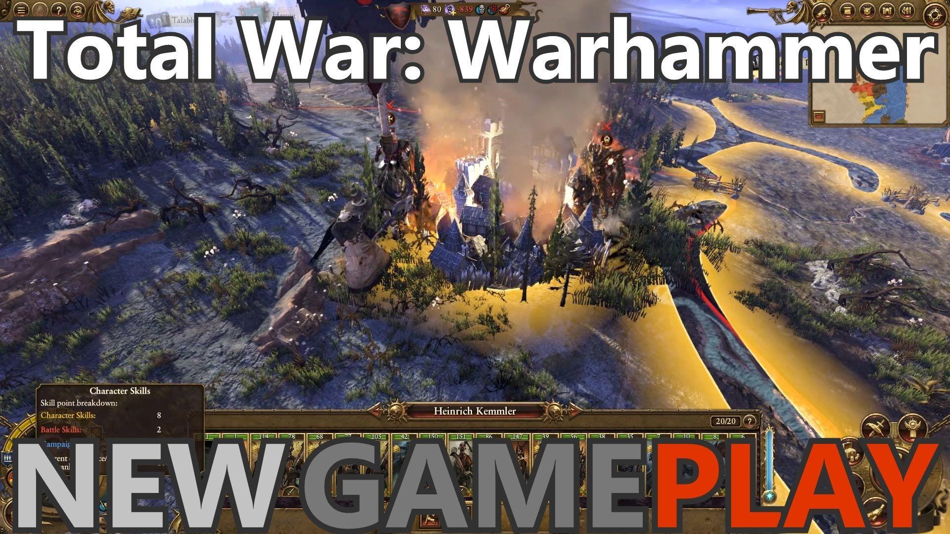 Total War Warhammer Gameplay Part 36 Release Date System