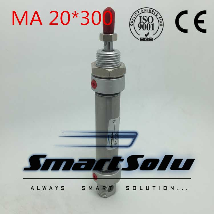 Free Shipping MA 20x300 20mm Bore 300mm Stroke Double
