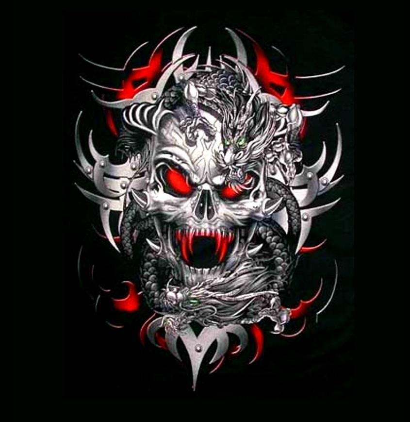 Skulls Tattoo Design Wallpaper: Pin By Anthony D Valencia On Skull Art