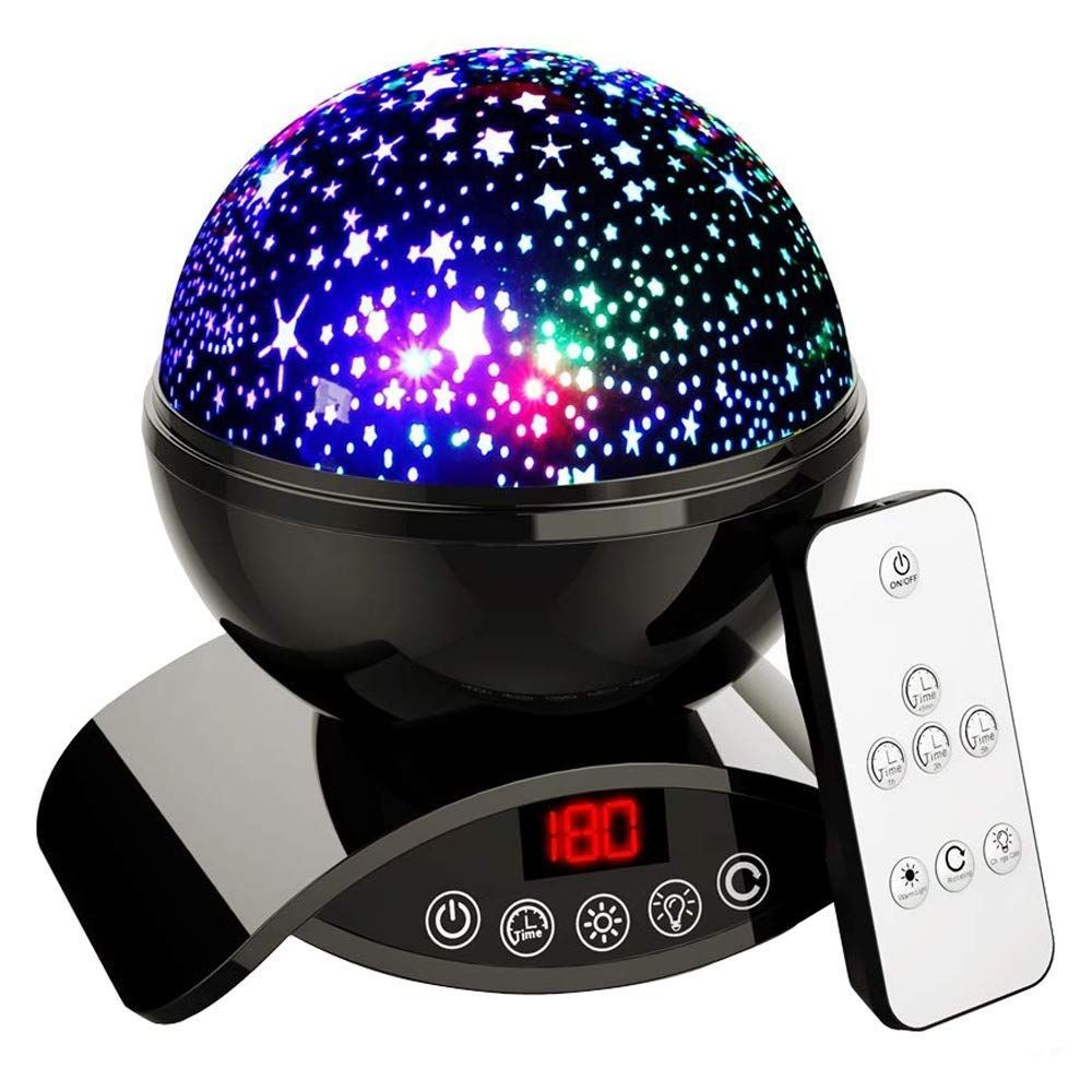 Description Star Projector Projects a complete starry