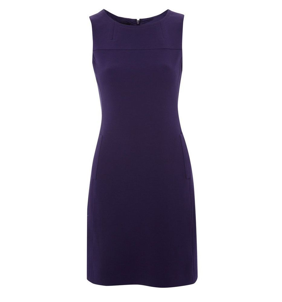 Hobbs Dress In Purple Alison New Size 10 Was 139 Now Sold Out With Images Hobbs Dresses Smart Dress Dresses