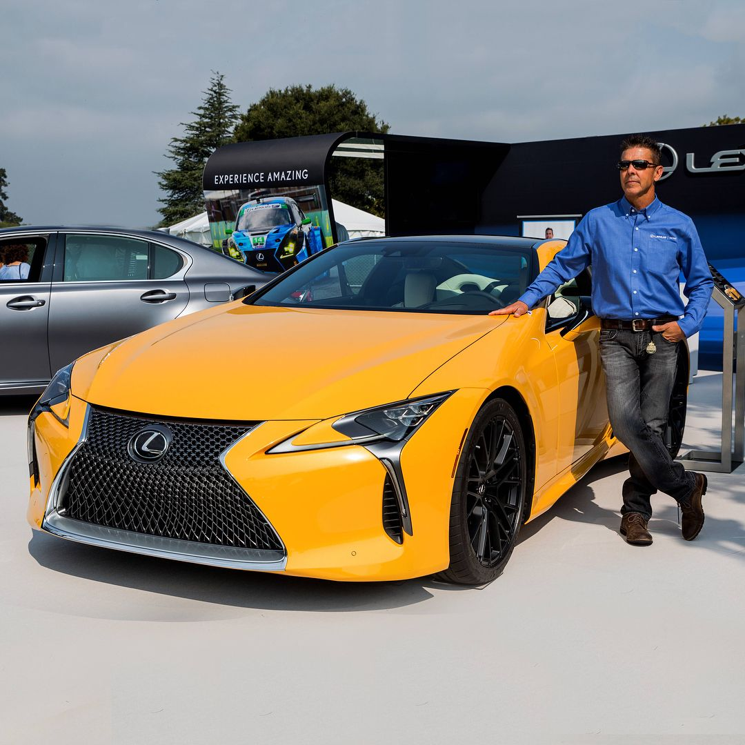 From lexus making a statement at thequail2018 lexuslc