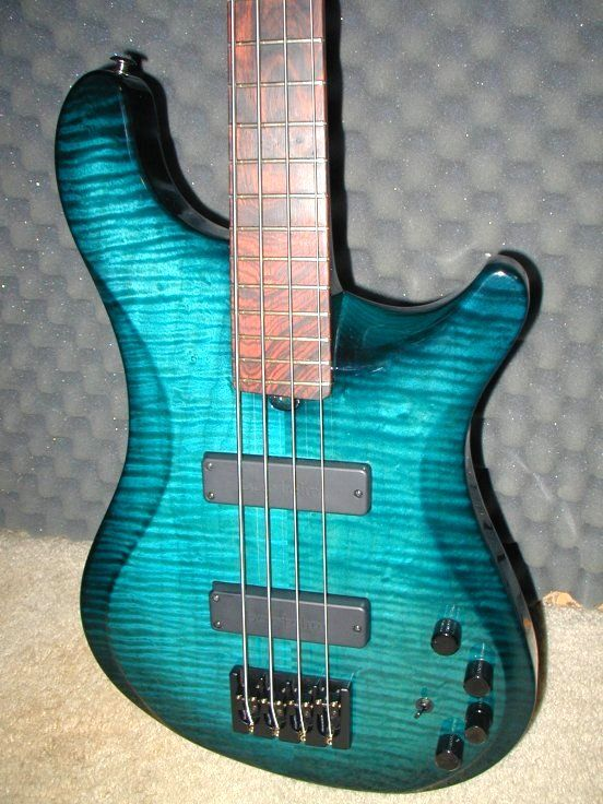 a really cool blue nbs custom brubaker basses in 2019 guitar bass acoustic guitar. Black Bedroom Furniture Sets. Home Design Ideas
