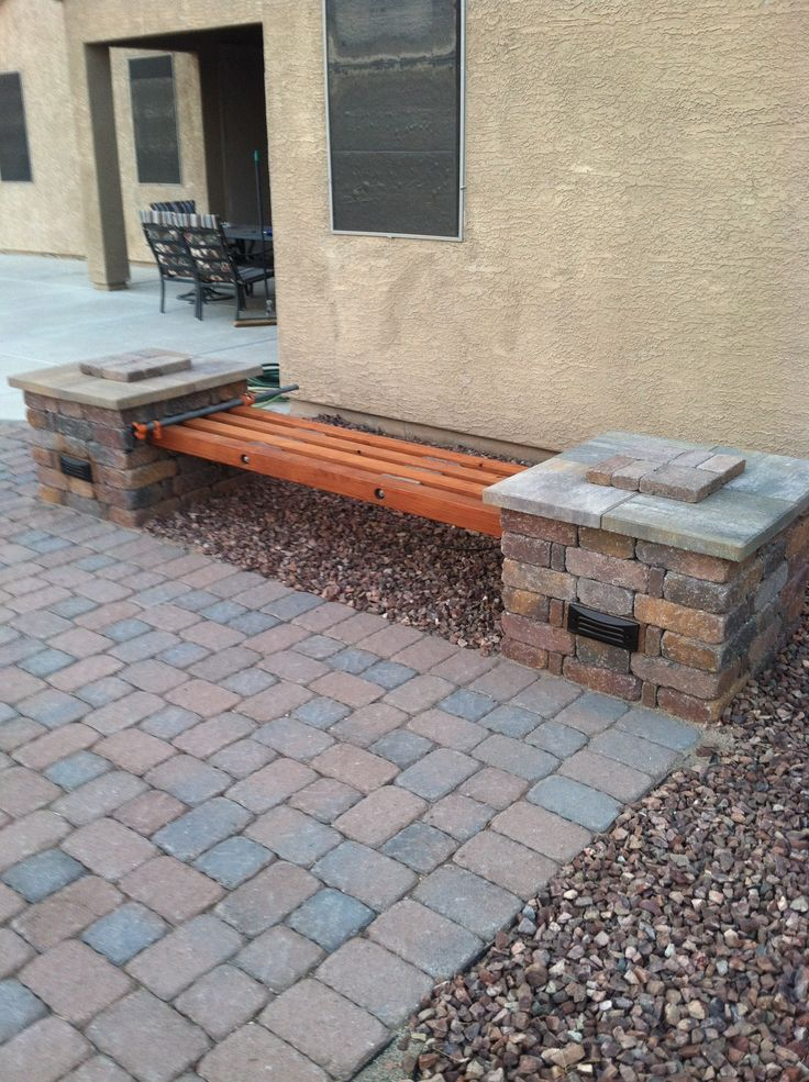 Diy Cinder Block Bench Fire Pits