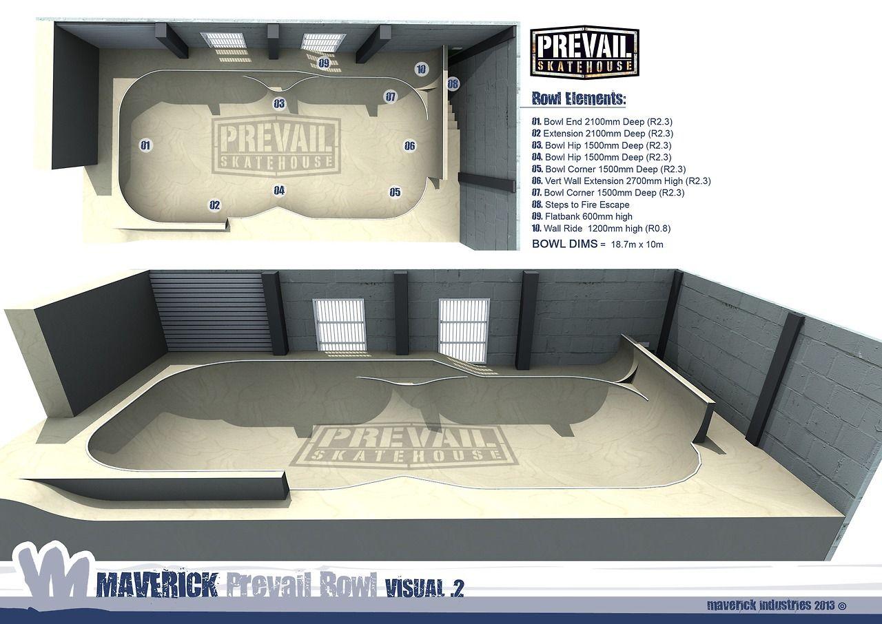 The Maverick Bowl Design For Prevail Skatehouse In Poole Dorset