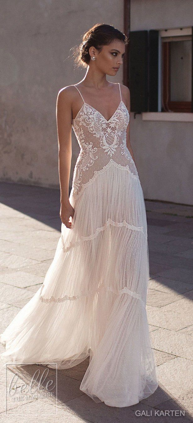 Dress for wedding party 2018  Gali Karten Wedding Dresses   Burano Bridal Collection  Bridal