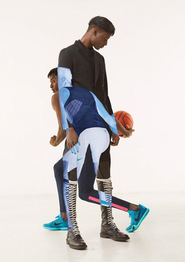 10cdf3298 The Multiple Exposures Nike Shooting   Styles   Multiple exposure ...
