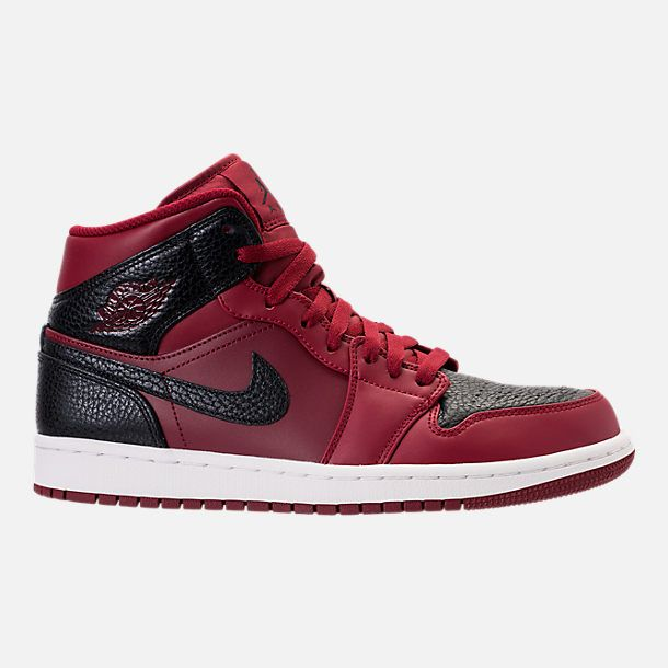59c534bc2a3 Right view of Men s Air Jordan 1 Mid Retro Basketball Shoes