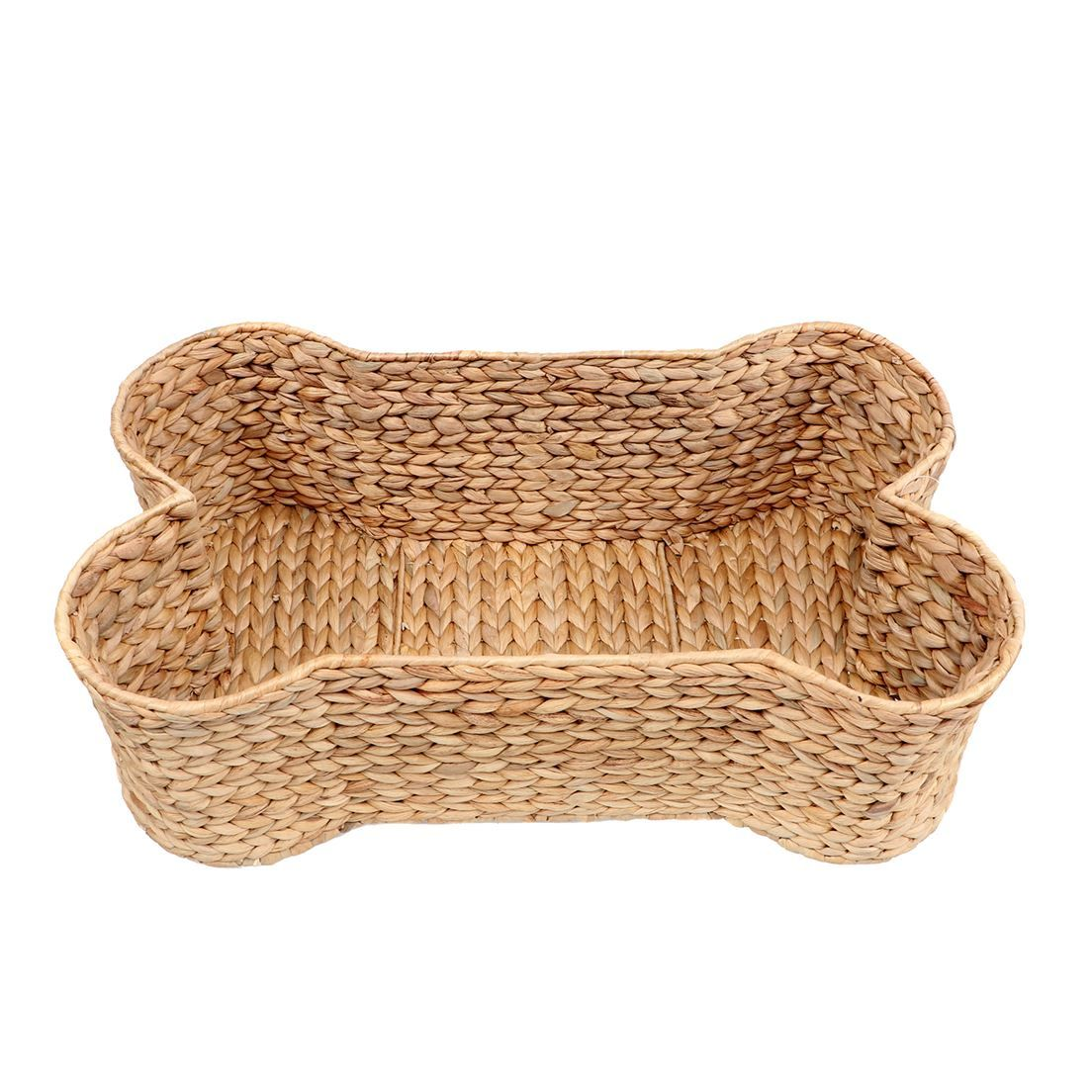 Woven Bone Shaped Basket/Pet Bed (With images) Pet bed
