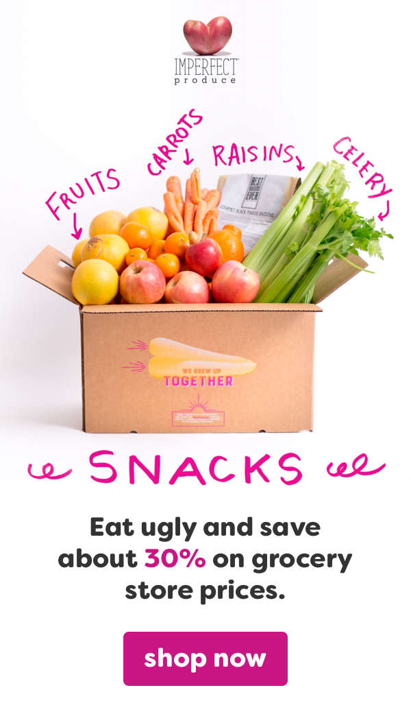 Did you know that 1 in 5 pieces of produce end up being