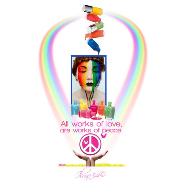 """Peace & Love"" by ilona2010 on Polyvore"