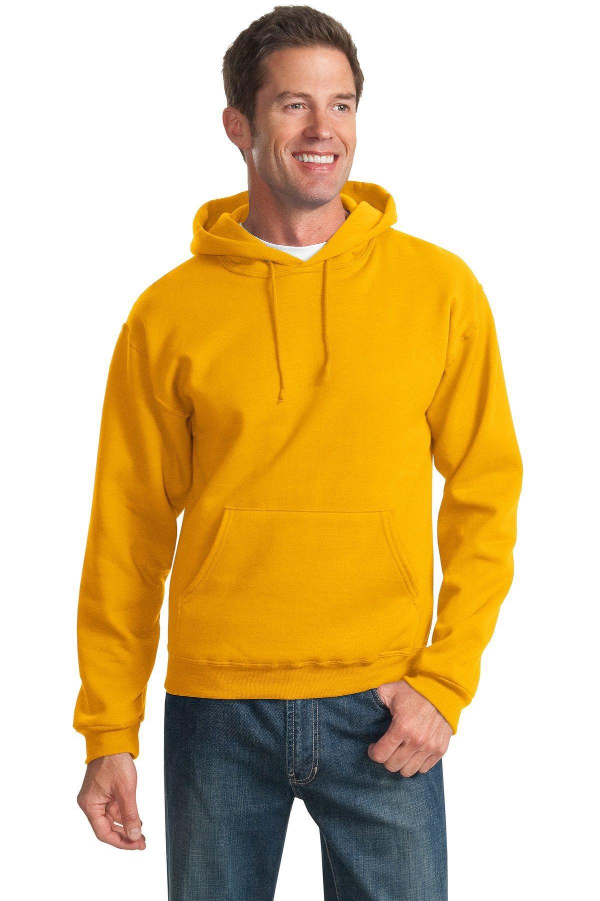 b45e63942bd JERZEES - NuBlend Pullover Hooded Sweatshirt.996M Gold