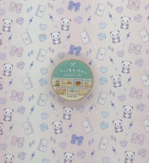 Washi tape, Yeastken, green15 mm x 10 mPlease follow my Instagram and get 10% off coupon code:)@tokyostickerstoreShop blog: tokyostickerstore.wordpress.comFeel free to ask any questions about the product. Thank you♡