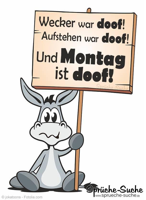 Montag Ist Doof Coole Sprüche Und Bilder Heyaa Montag Sprüche
