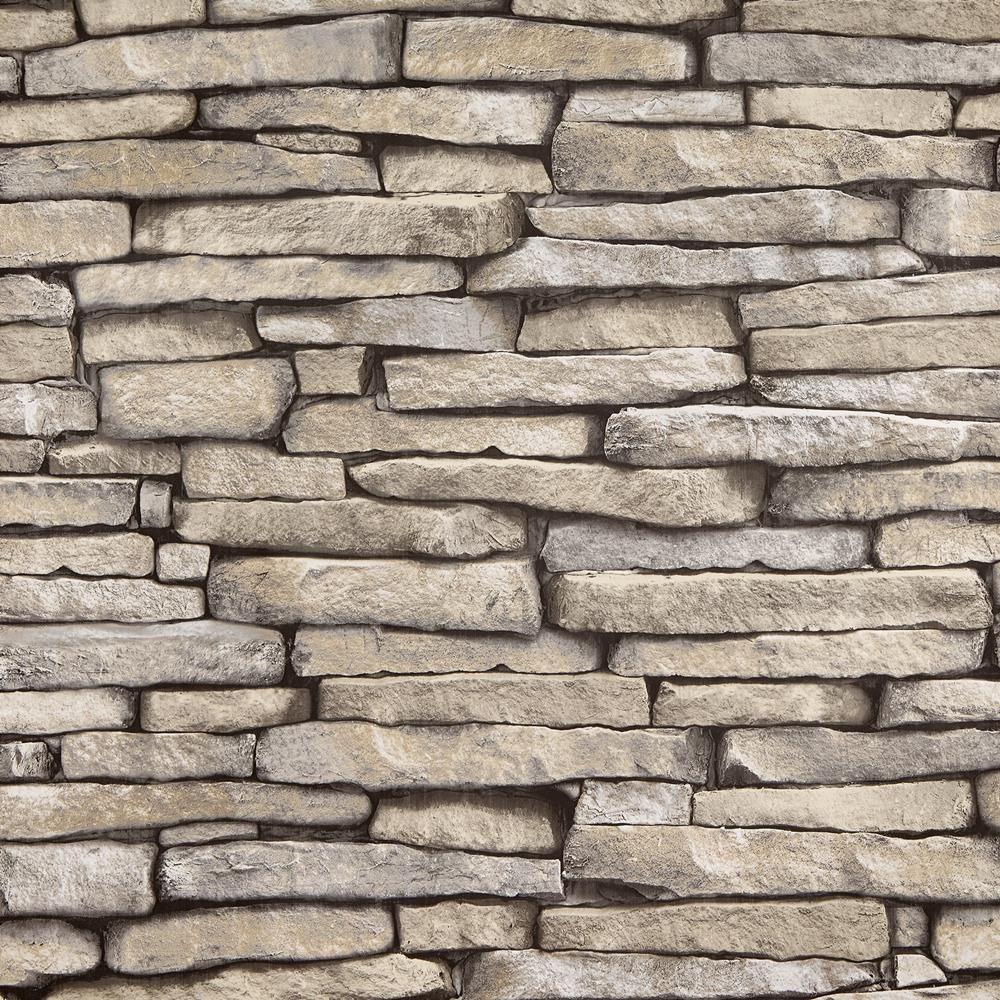Slate Wallpaper - Double Roll/Wallpaper/Wall Decor Bouclair.com
