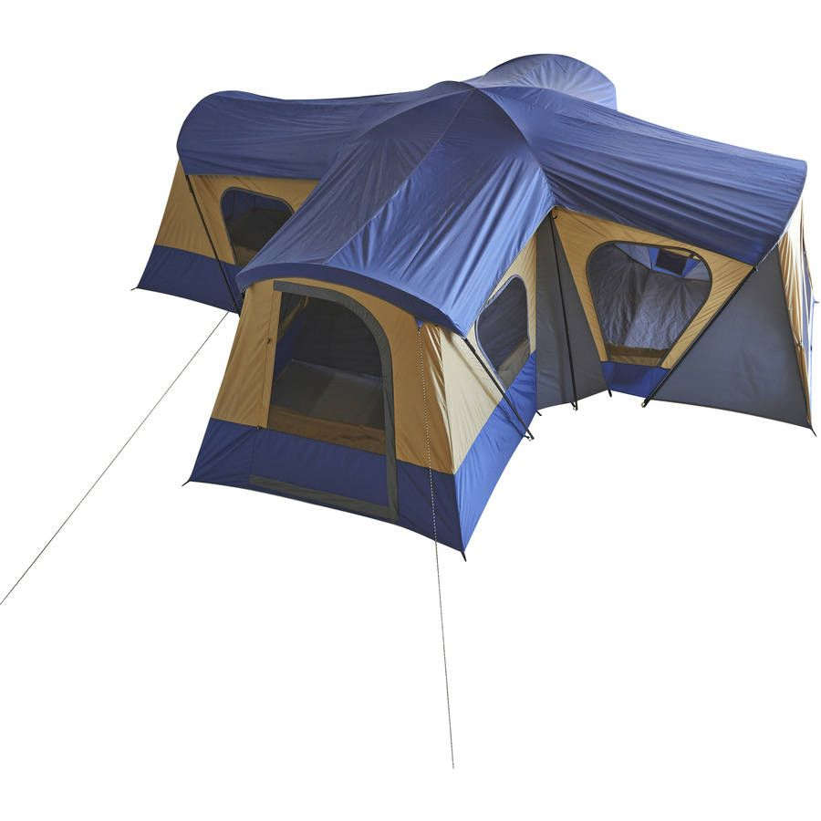 Delicieux Ozark Trail 14 Person 4 Room Base Camp Tent   Walmart.com