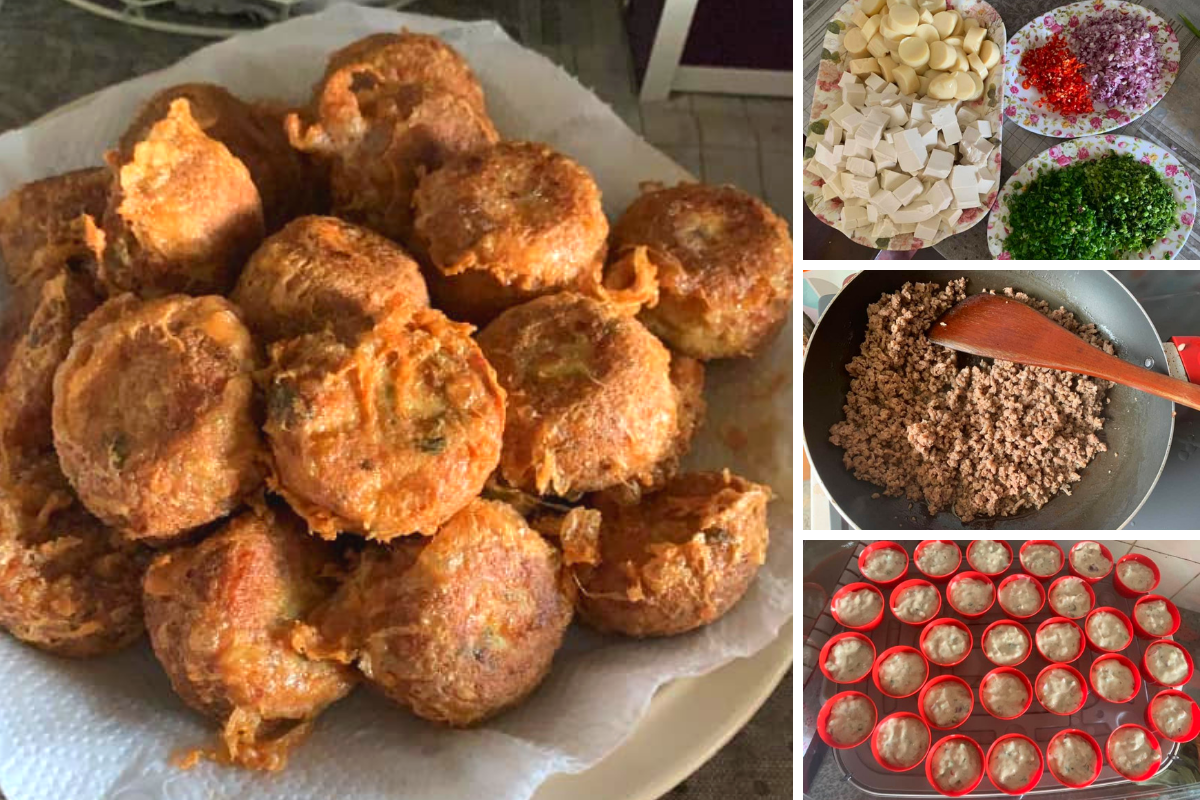 Tauhu Berlauk Traditional Food Recipes Food