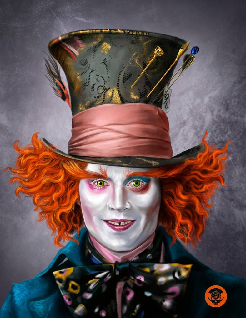Mad Hatter by on DeviantArt in 2020 Mad