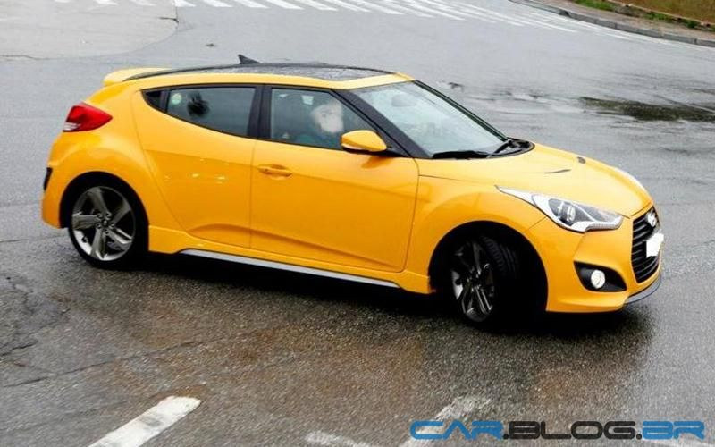 Veloster Turbo Yellow 2013 Hyundai Veloster Turbo Yellow