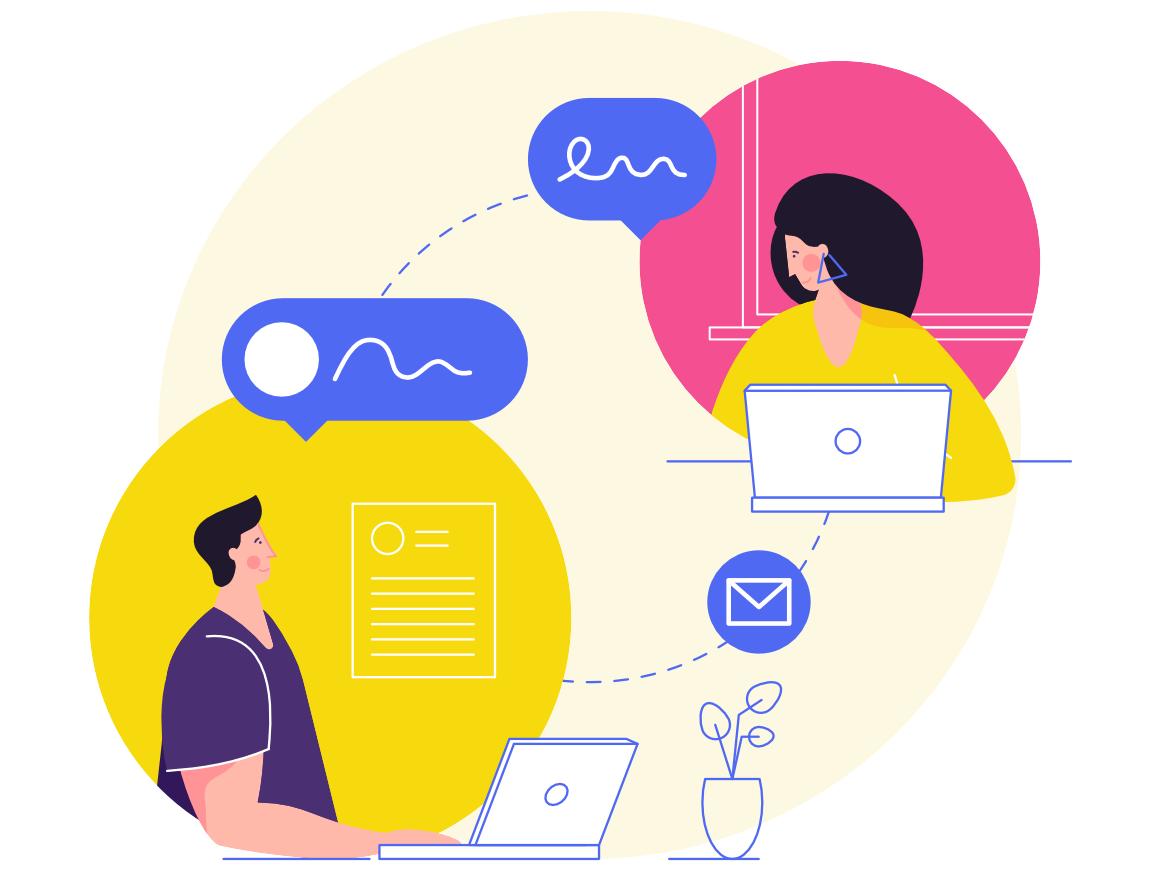 Modern Communication Communication Illustration Illustration Design Graphic Design Illustration