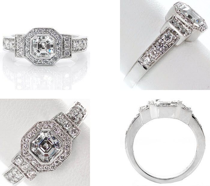 10 Unique engagement rings | Antique Engagement Ring | Knox Jewelers | Fab Mood