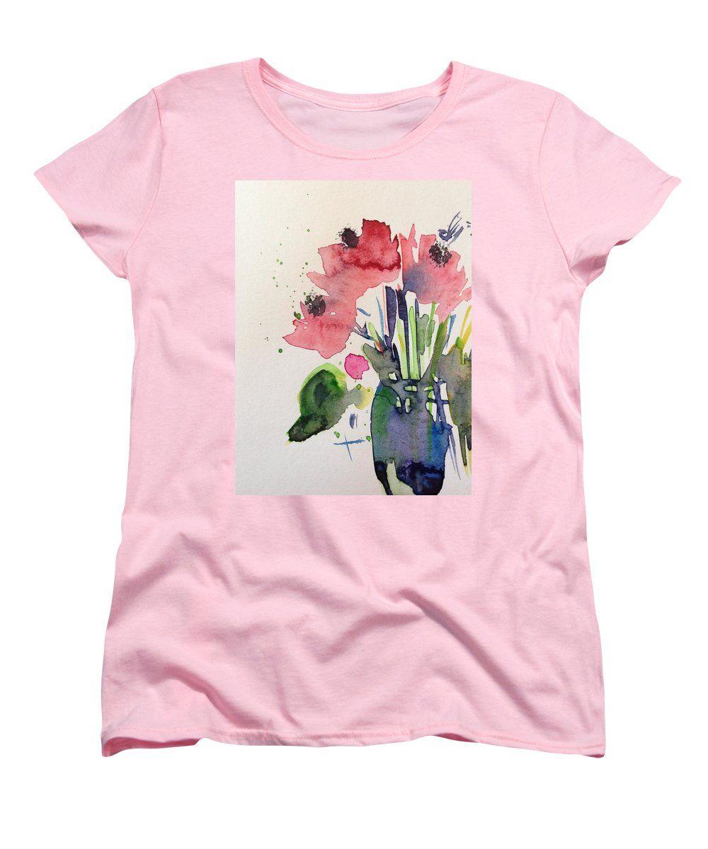 Poppy Flowers Womens T Shirt For Sale By Britta Zehm Poppy Flowers