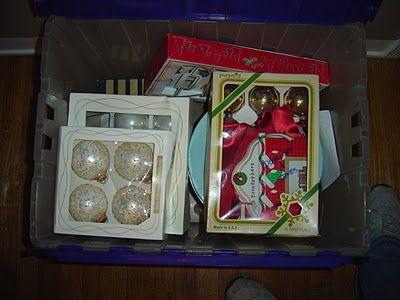 Keeping Christmas ornaments organized